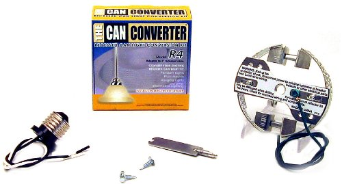 The Can Converter R4 Recessed Can Light Conversion Kit for 4