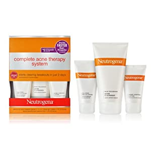 Neutrogena state-of-the-art options complete acne breakouts treatment System