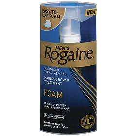 Men's Rogaine Foam-Rogaine Hair Regrowth Treatment