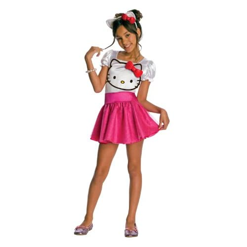 Lets Party By Rubies Hello Kitty   Hello Kitty Tutu Dress Child Costume / Pink   Size Small (4/6)