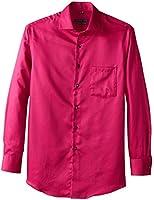 Geoffrey Beene Men's Classic Fit No-Iron Sateen Dress Shirt