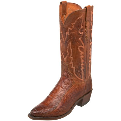 1883 by Lucchese Men's N1121.54 Western Boot,Brandy Matte/Cognac,6.5 EE US