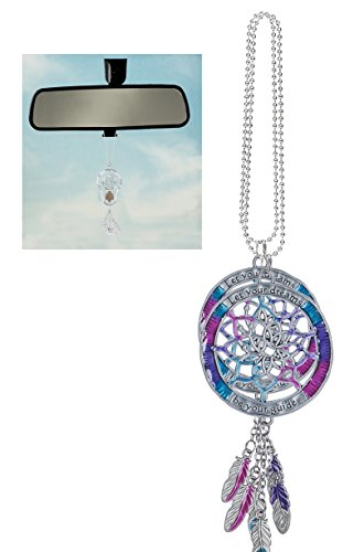 Ganz Car Charm rearview mirror charm Colorful Dreamcatcher Car Charm ER46665