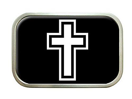 Cross Christian Belt Buckle