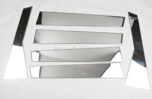 Auto Part Stainless steel Chrome Window Molding