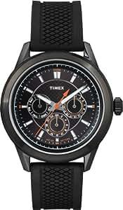 Timex - T2P179PF - Sports - Montre Homme - Quartz Analogique - Bracelet Silicone Noir