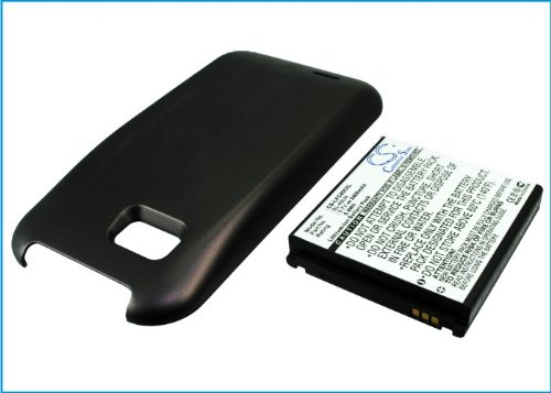 Extended Battery for LG Gray C800, myTouch Q, myTouch Q 4G (With Cover)