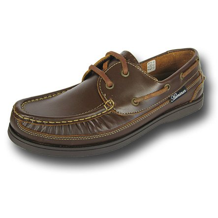 Mens SEAFARER HELMSMAN boat DECK SHOES M131 Brown UK9