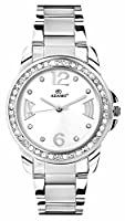 Adamo Analog White Dial women's Watch - AD39SM01