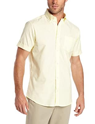 Lee - Young Mens Short Sleeve Oxford Shirt