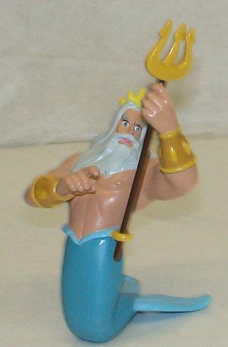 Disney Exclusive Pvc Figure : THE Little Mermaid King Triton - 1