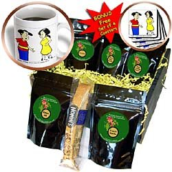 Londons Times Funny Society Cartoons - Sexy Calfs - Coffee Gift Baskets - Coffee Gift Basket