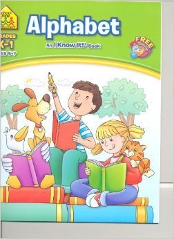 Alphabet K-1 (An I Know It Book) Workbook - 1