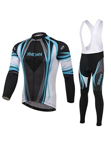 maillot-de-manches-longues-pantalons-avec-bretelles-de-cyclisme-homme-randonnee-camping-vetements-en