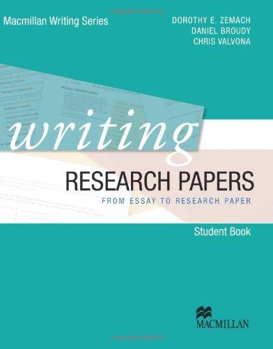 Research papers. Con DVD. Con espansione online. Per le Scuole superiori (Macmillan Writing Series)
