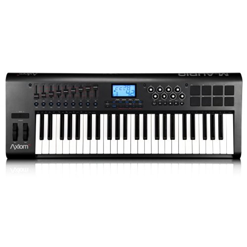 M-Audio Axiom 49 49-Key USB MIDI Keyboard Controller with Semi-Weighted Keys and Assignable Control