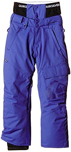 Quiksilver - County Pantalone Da Snowboard Bambino - Blu - 12 Anni