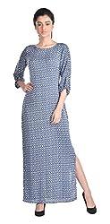 Aaina by Sanchari Women's Maxi Dress