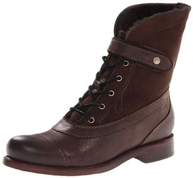 (新品) 天木兰 Timberland 女士 帅气 短靴 Lucille Snap Mid Lace-Up, 5m两色$152.93