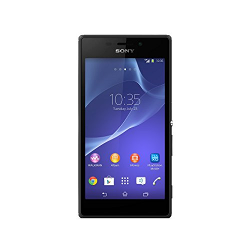 Sony Xperia M2 Lteâ D2306 Unlocked Gsm Android Smartphone - Retail Packaging - Black