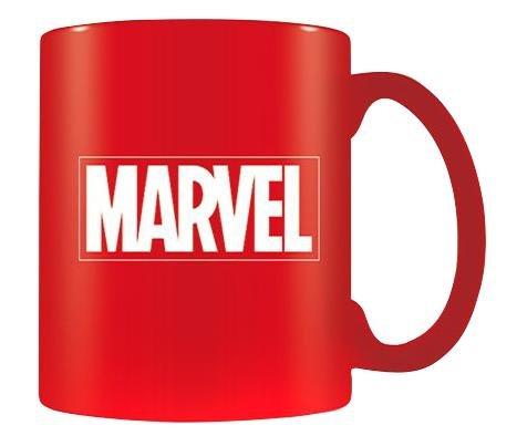 Marvel-Tazza in ceramica con Logo, colore: multicolore