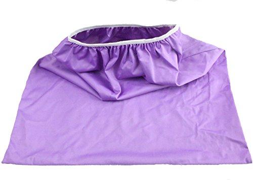 buy Wegreeco Reusable Diaper Pail Liner for Cloth Diaper, Garbage Bag (Purple) for sale