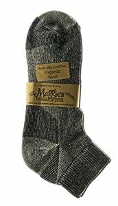 Maggie's Organics, Sock, Urban Hiker, Shrt Blk, 3/9/11