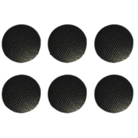 SODIAL(R) 6pcs Analog Joystick Stick Replacement Cap Cover Button For Sony PSP 1000 Black (Psp Replacement Cover compare prices)