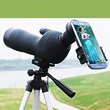 [jiroo] フィールドスコープ スポッティングスコープ 望遠鏡 20~60倍 60mm 野外フェス スポーツ観戦 野鳥観察 天体観測 アウトドア 単眼鏡 単眼望遠鏡 撮影可 軽量 ♪ 三脚付き♪