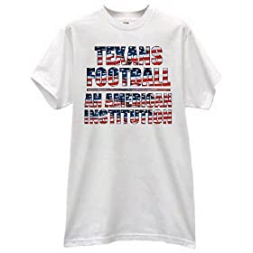 TEXANS FOOTBALL AN AMERICAN INSTITUTION FAN PRIDE USA T SHIRT jersey