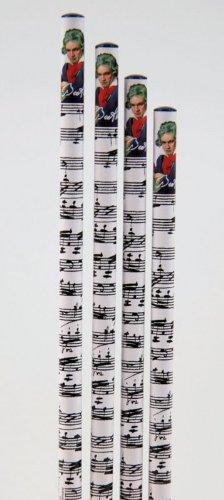 Bleistift-Beethoven-10-Stck-Packung-schnes-Geschenk-fr-Musiker