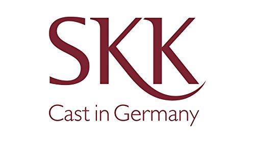 SKK Couvercle en verre avec bord en acier inoxydable 26cm