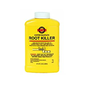 copper sulfate root killer instructions