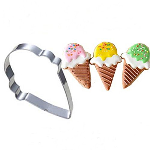 Ainest Stainless Steel Baking Cake Cookie Fondant Biscuit Pastry Cutter Mould Tools New Ice Cream
