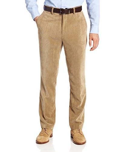 Louis Raphael Men's Flat-Front Modern Fit Corduroy Dress Pant