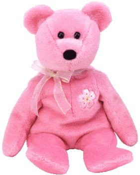 Ty Asia-Pacific Japanese Exclusive Beanie Sakura II (2) Bear Beanie (Japan Exclusive)