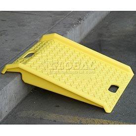 Portable Plastic Hand Truck Curb Ramp 1000 Lb. Capacity