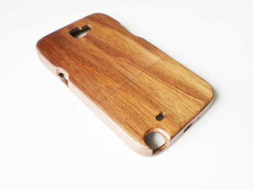 Riorand Handmade Natural Wooden Case Cover (Case For Samsung Note2) front-391426