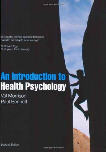 An introduction to Health Psychology (2nd Edition)