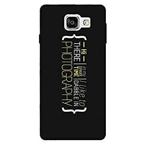 Zeerow 798D Mobile Back Cover for Samsung A5