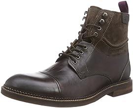 [クラークス] CLARKS ブッシュウィックピーク 26110621 Brown Leather(ブラウンレザー/085)
