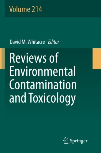 Reviews of Environmental Contamination and Toxicology: Volume 214
