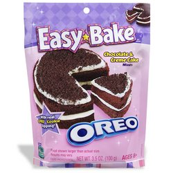 Easy-Bake Oven: 4-Pack Refill - Oreo Cookie - Buy Easy-Bake Oven: 4-Pack Refill - Oreo Cookie - Purchase Easy-Bake Oven: 4-Pack Refill - Oreo Cookie (Hasbro, Toys & Games,Categories,Pretend Play & Dress-up,Sets,Cooking & Housekeeping,Real-Food Appliances)