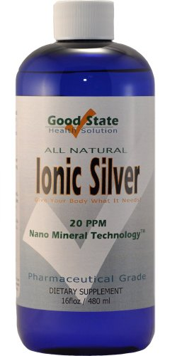 Liquid Ionic Minerals Silver (96 Days At 100mcg.)