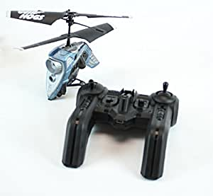 Remote Controlled Helicopter with Built in Video Camera - Air Hogs R/C Hawkeye (Blue)
