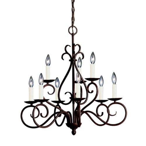 Trend Kichler Lighting TZ Norwich Light Chandelier Tannery Bronze