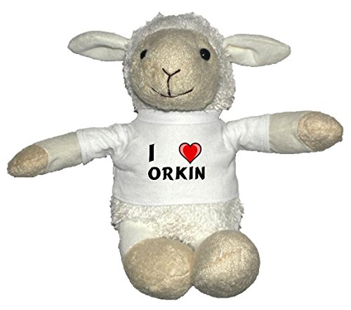 plush-white-sheep-with-i-love-orkin-t-shirt-first-name-surname-nickname