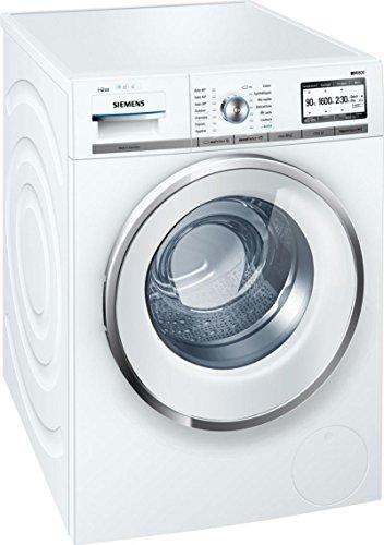SIEMENS-Lave linge hublot-Capacité : 9 kg, Vitesse d'essorage : 1600 tours/min, Thermostat : Oui, Capacité variable automatique : oui, Classe énergétique : A+++/A/A, Couleur : blanc