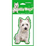 West Highland Terrier Westie Air Freshener for Car or Home - Perfect Gift