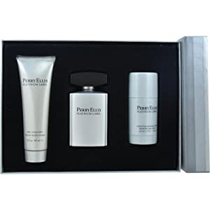 Perry Ellis Platinum Label Fragrance Gift Set for Men